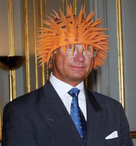 The King Of Sweden Likes To 'Wear' Silly Hats - DesignTAXI