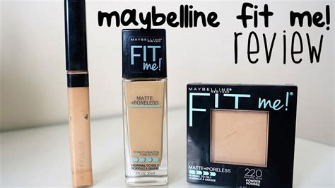 MAYBELLINE FIT ME (Matte & Poreless) REVIEW | FOUNDATION