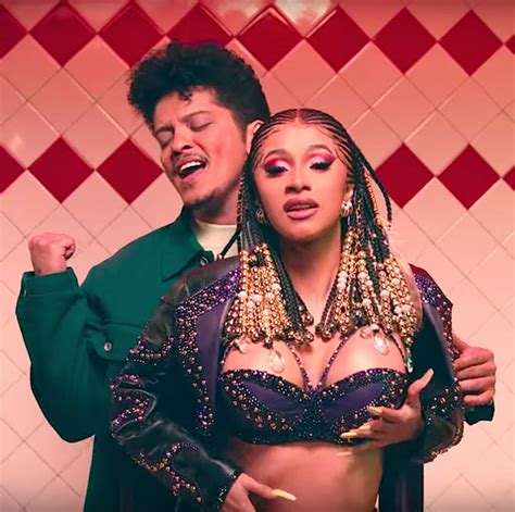 Cardi B, Bruno Mars Please Me Video Is a Steamy '90s Throwback