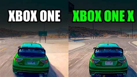 XBOX ONE vs XBOX ONE X – Side by Side Need for Speed