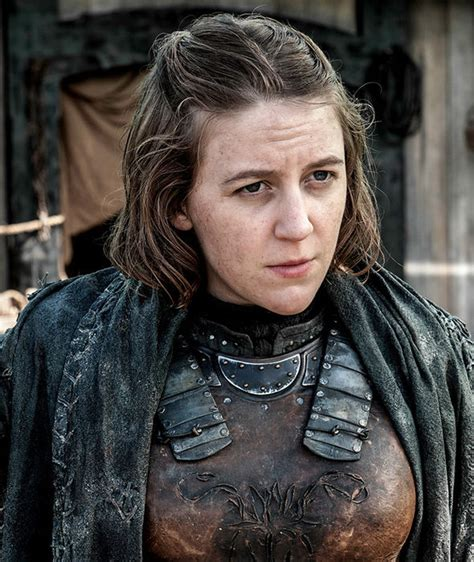 Game of Thrones star Gemma Whelan claims fans don't