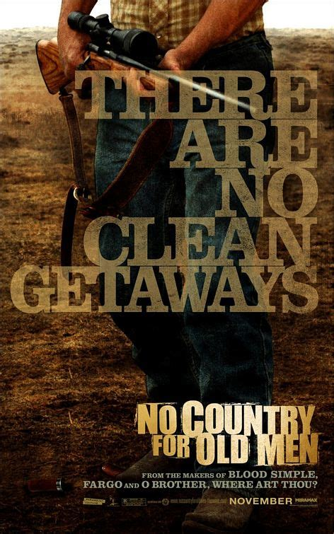 No Country for Old Men Movie Poster (#2 of 7) - IMP Awards