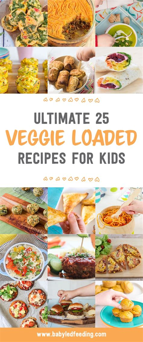 Ultimate 25 Recipes to get your Children eating more