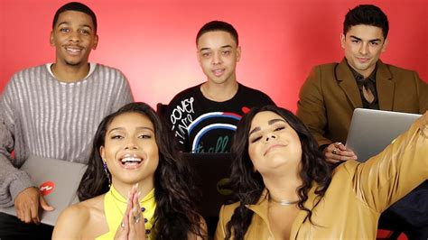 """The Cast Of """"On My Block"""" Finds Out Which Characters They"""