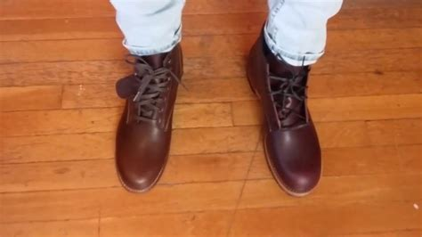 wolverine 1000 mile vs red wing beckman on feet comparison