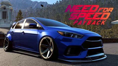 Need For Speed Payback - Ford Focus RS Customization (Air