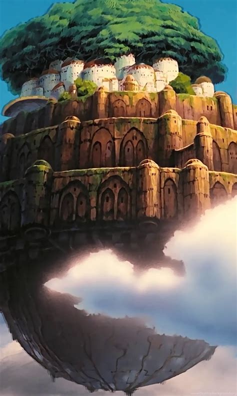 I Have A Huge Collection Of 1440p Studio Ghibli Wallpapers