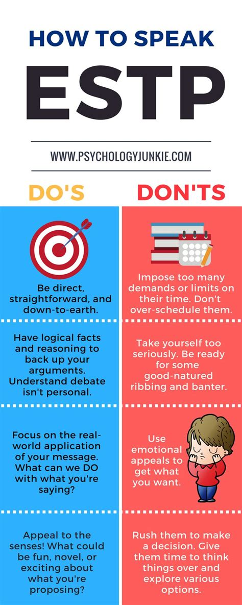 Quick tips for communicating with an #ESTP ! #MBTI (With