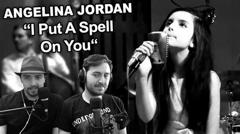 """Singers Reaction/Review to """"Angelina Jordan - I Put A"""