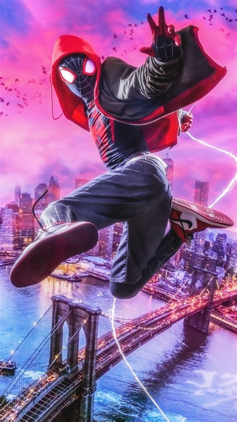 Spider-Man Into the Spider-Verse 4K Wallpapers | HD