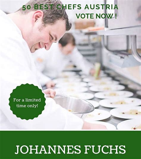 Still haven't cast your vote for our Executive Chef Johann