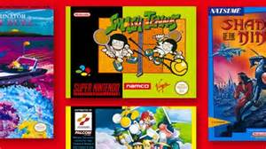 Four new NES and SNES games heading to Nintendo Switch