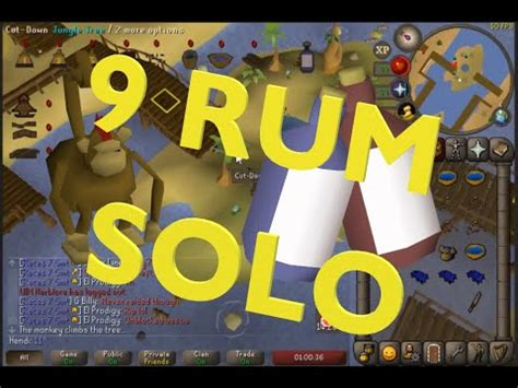 Trouble Brewing OSRS - 9 Rum Solo - YouTube