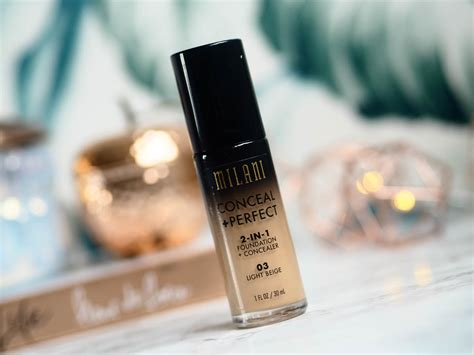 Milani Conceal and Perfect Foundation - Oily Skin Review