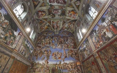Endangered Sistine Chapel to be opened for outside