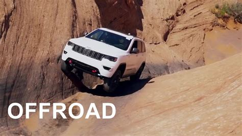 2017 Jeep Grand Cherokee Trailhawk - Offroad Test - YouTube