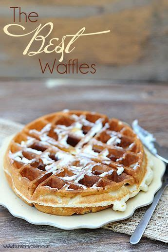 Made it, Loved it - I usually make waffles a few times a