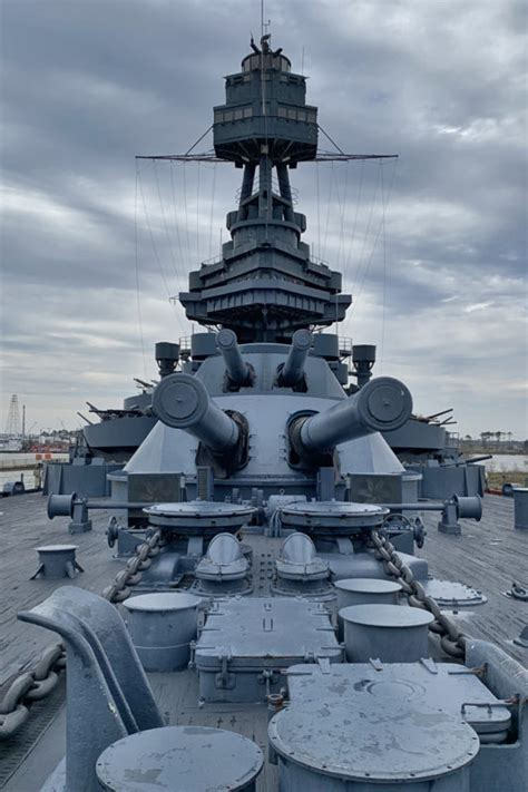 Battleship Texas Faces Danger In Both War And Peace Time