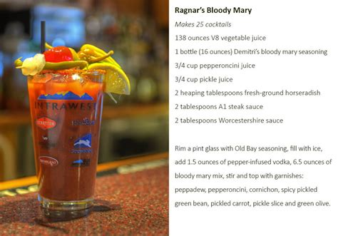 Steamboat bloody mary recipes - Steamboat Blog