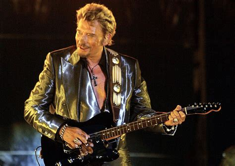 France's king of rock Johnny Hallyday dies aged 74