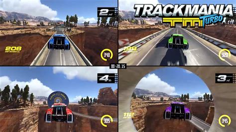 Trackmania Turbo Multiplayer trailer – More drivers, more