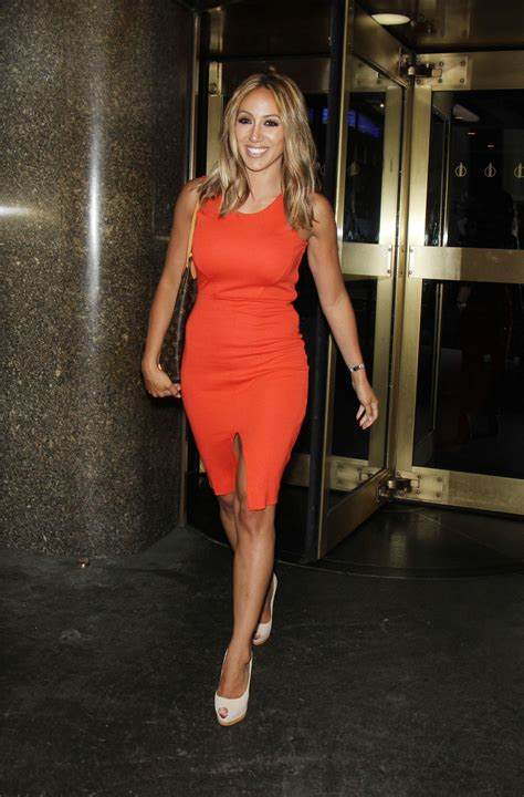 Melissa Gorga in Red Dress Out in New York | GotCeleb