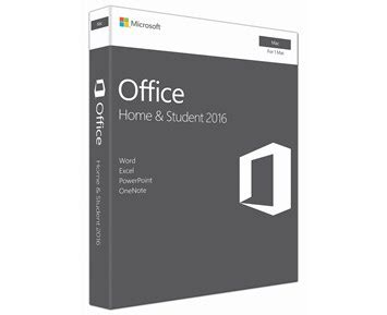 Microsoft Office H & S 2016 for MAC - Office Home