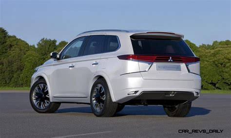 Wow! 2016 Mitsubishi Outlander Facelift previewed By Very