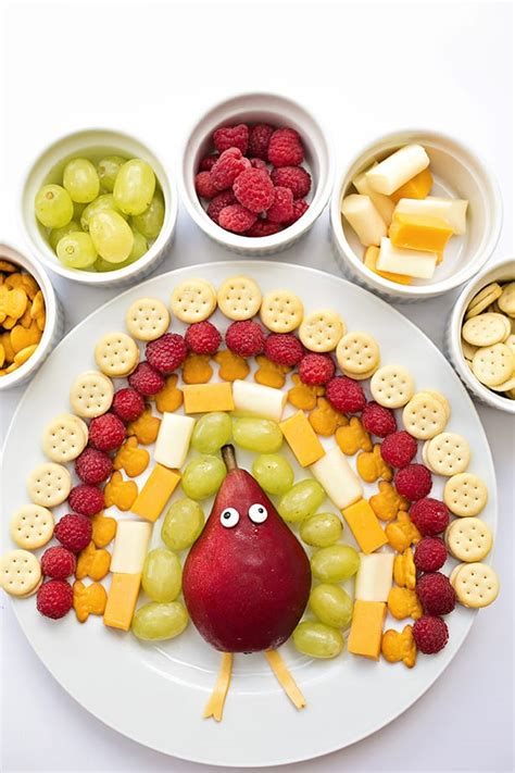 8 CUTE AND HEALTHY THANKSGIVING FOODS FOR KIDS