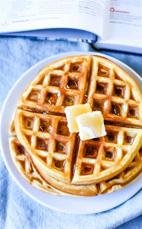The Best Waffle Recipe - Cleverly Simple