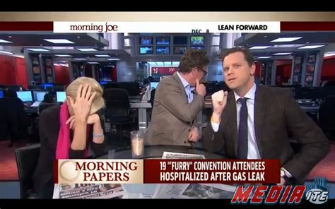 """Watch the """"Morning Joe"""" team learn what being a """"furry"""