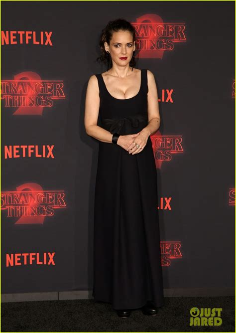 Winona Ryder Meets Up with Her On-Screen Son at 'Stranger