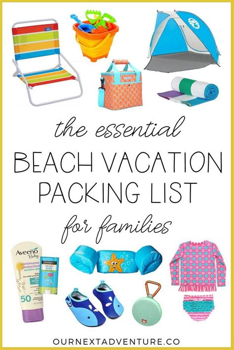 Packing List: What to Pack for a Family Beach Vacation