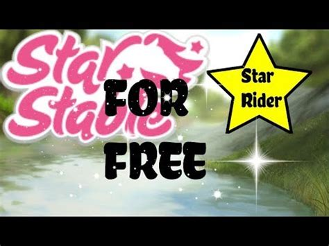 NEW STAR STABLE CODES! 3 DAYS OF STAR RIDER FREE & 100