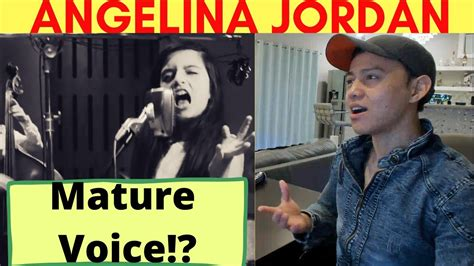 Angelina Jordan - I Put A Spell On You | REACTION VIDEO BY